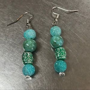 Turquoise earrings NWOT